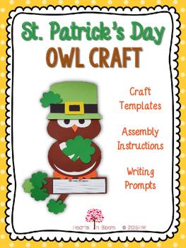 St. Patrick's Day Owl Craft