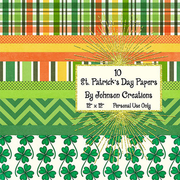 St. Patrick's Day Papers