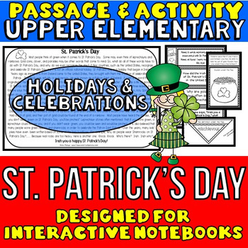 St. Patrick's Day: Reading Passage and Questions: Interact