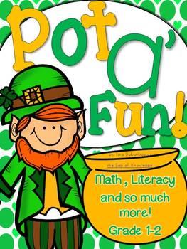 St. Patrick's Day Pot a' Fun Math & Literacy Packet! {Grade 1-2}