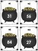 St. Patrick's Day Pot of Gold Ten More Ten Less Math Cente