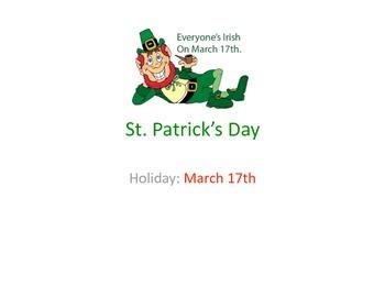 St. Patrick's Day PowerPoint Presentation