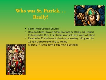 St Patrick's Day PowerPoint Unit