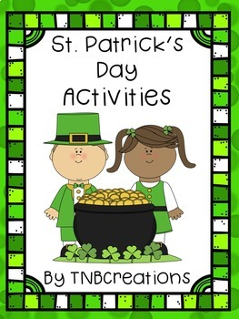 St. Patrick's Day Language Arts Writing Activities