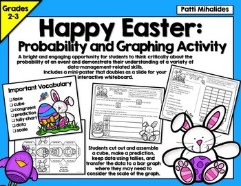 Easter Probability/Graphing Activity: Hands-On Math for 2n