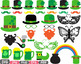 St. Patricks Day Props Photo Booth clipart Saint Patty Iri