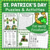 St. Patrick's Day Puzzle and Activity Fun