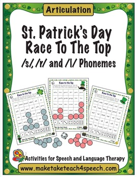 St. Patrick's Day Race to the Top- Articulation