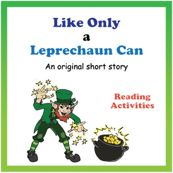 Reading Activity Packet - Original Short Story (Common Core)
