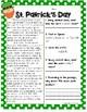 St. Patrick's Day Reading Passage