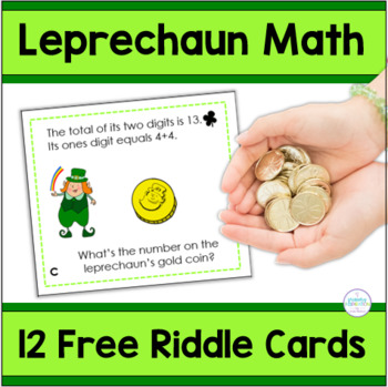 St. Patrick's Day Riddles for Two-Digit Numbers