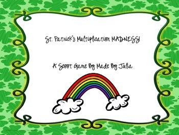 St. Patrick's Day SCOOT