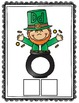 St. Patrick's Day Literacy Center (Color and Black and White)
