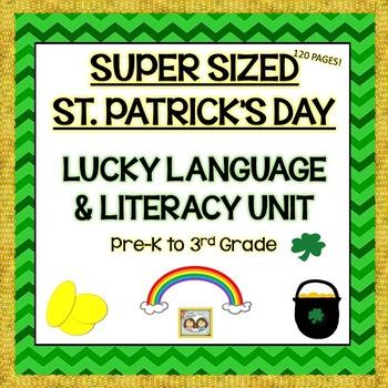 St. Patrick's Day SUPER SIZED Lucky Language, Literacy, &