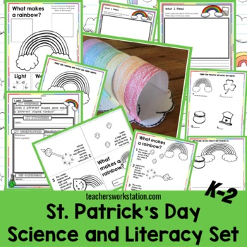 St. Patrick's Day Science and Literacy (Kindergarten - 2nd)