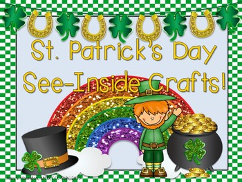 St. Patrick's Day Crafts with Original Poems and Writing Activity