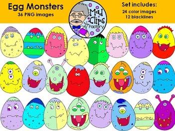 Egg Monsters Set