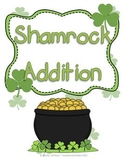St. Patrick's Day Shamrock Addition Mats - Decomposing Numbers