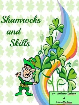 St. Patrick's Day, Shamrocks, Word Problems, Coordinate Dr