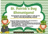 St. Patrick's Day Shenanigans: Activities, Games & Leprech