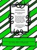 St. Patrick's Day Sight Word Bingo Pre-primer