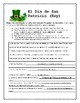 St. Patrick's Day Spanish lesson materials