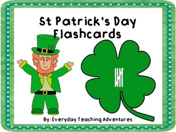 St Patrick's Day Tally Mark Flashcards