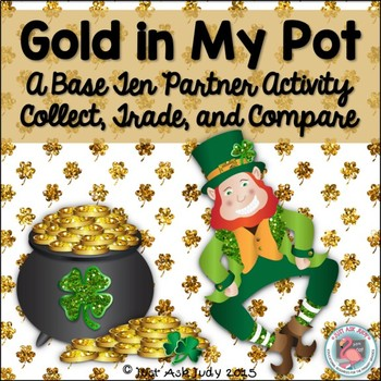 Place Value Tens and Ones Activity St. Patrick's Day