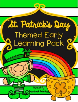 St Patricks Day Themed Early Learning Pack {Math & ELA}