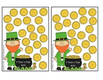 St. Patrick's Day Token Boards