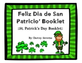 St. Patrick's Day Vocabulary Booklet - Dia de San Patricio