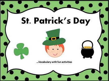 St. Patrick's Day Vocabulary with Fun