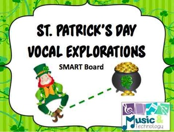 St. Patrick's Day Vocal Exploration SMART Board Activity