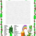 St. Patrick's Day Word Search- Harder 28 Words