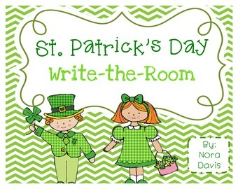 St. Patrick's Day Write-the-Room