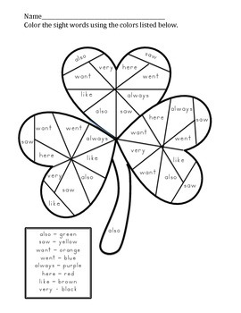St. Patrick's Day- Write the room with Long Vowels, Money,