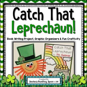 St. Patrick's Day Writing - Catch That Leprechaun! - Book