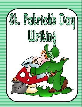 St. Patrick's Day Writing--Common Core--K-1