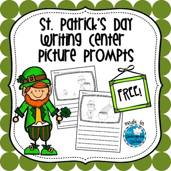St. Patrick's Day Writing Picture Prompts