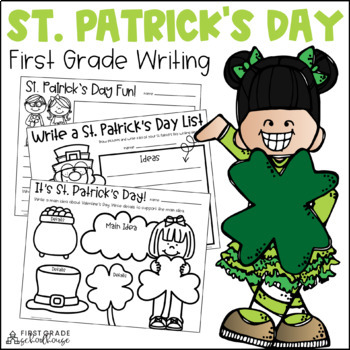 St. Patrick's Day Writing for First Grade