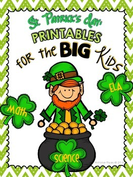 St. Patrick's Day for the Big Kids