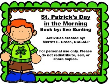 St. Patrick's Day in the Morning: Retelling and Figurative