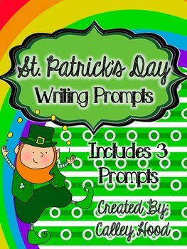 St. Patrick's Day writing promps