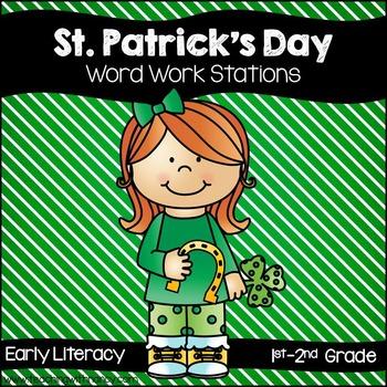 St. Patrick's ELAR Stations for 1st-2nd Grade