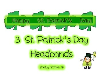St. Patricks Headbands - Your Choice of 3