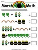 St. Patrick's March Activity Pack - Math, Writing, Syllabl
