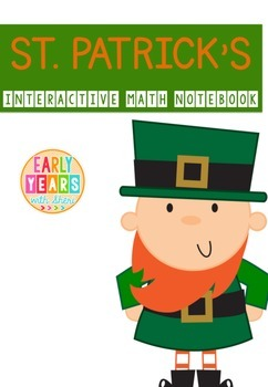 St. Patrick's Math Interactive Notebook