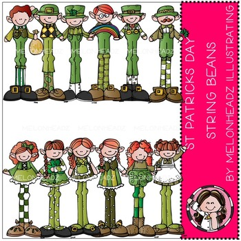 St Patricks String Beans by Melonheadz COMBO PACK