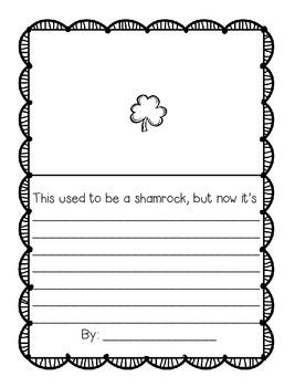 St. Patrick's Writing Freebie