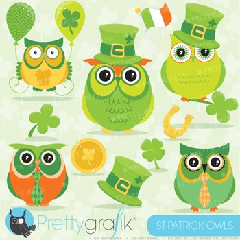 St-Patrick's day clipart commercial use, vector graphics,
